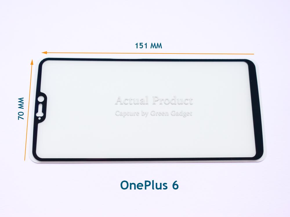 OnePlus 6 Full Glue Screen Protector Tempered Glass