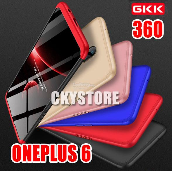 new product c2a5d c2301 OnePlus 6 GKK 360 FULL Protection SLIM FIT Case