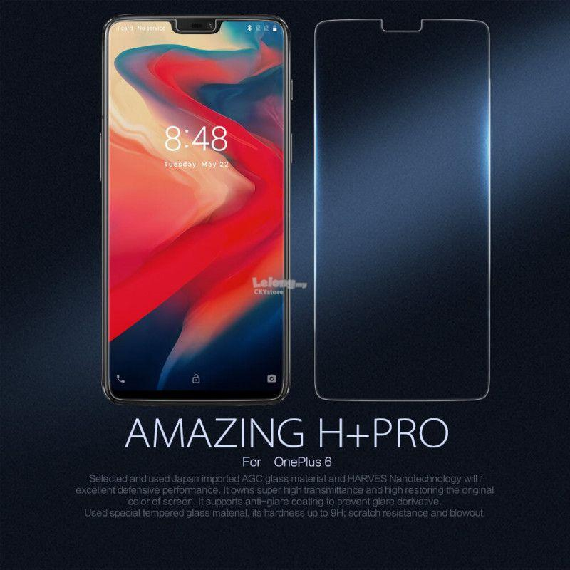 OnePlus 6 NILLKIN H PLUS PRO 0.2mm TEMPERED GLASS