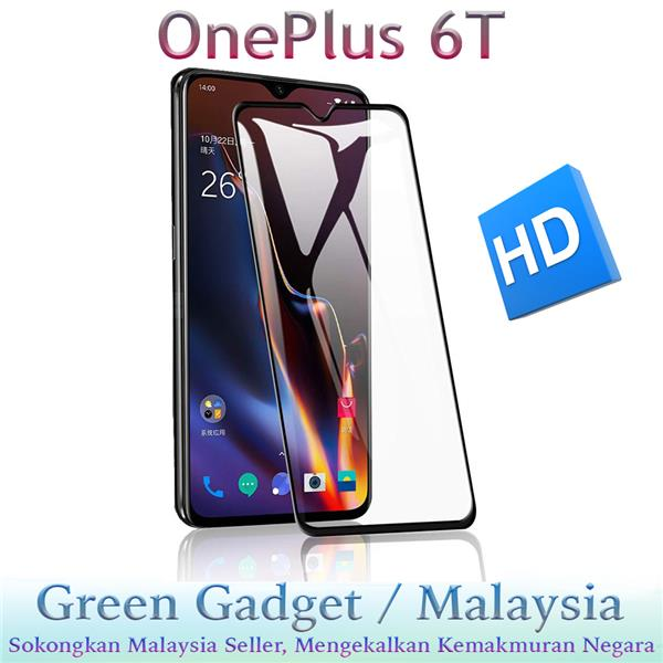 OnePlus 6T Full Glue Screen Protector Tempered Glass