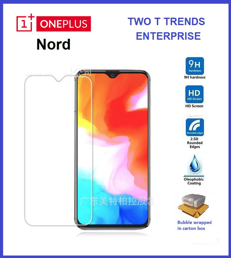 OnePlus Nord OnePlus 6 1+Nord 1+6 Tempered Glass Screen Protector 2.5D