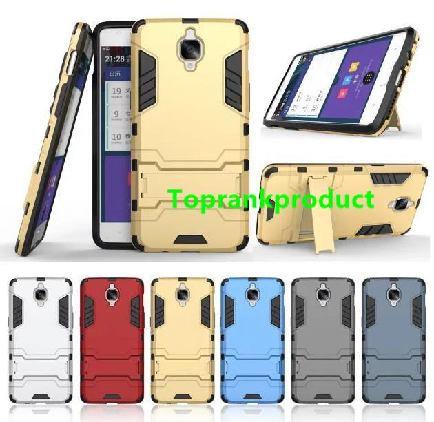 cheap for discount 81d78 c5937 Oneplus One Plus 3 Three TPU+PC Stand Armor Hybrid Case Cover Casing