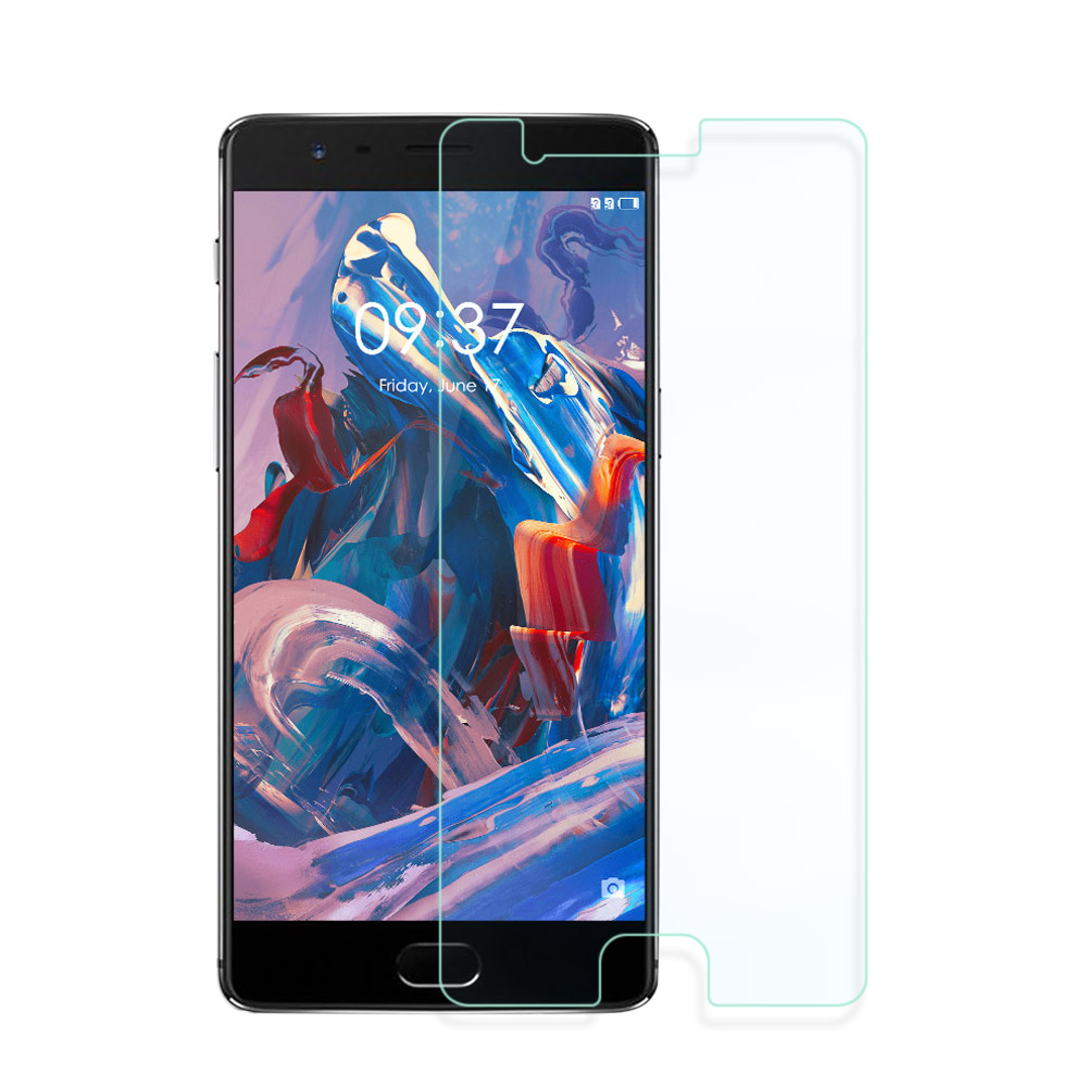 OnePlus One Plus Three 1+3 Round Edge 9H Tempered Glass
