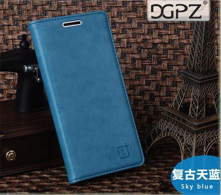 huge discount c9ad7 4405a Oneplus One Plus Two 1+2 Flip Cow Leather Case Cover Casing +Free Gift