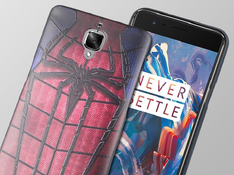 new product 959f5 4a1e0 OnePlus Three One Plus Three 1+3 3T Soft 3D Design Case Cover Casing