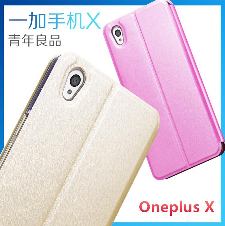 OnePlus X -One Plus X Ultra Thin Flip Case Cover Casing + Free Gift