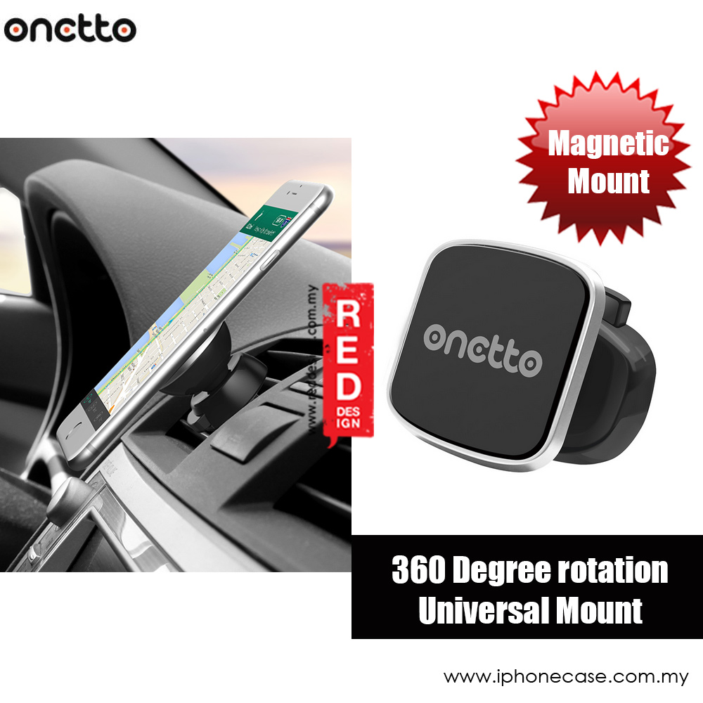Onetto Easy Clip Vent Magnet Car Vent Magnetic Mount (Black)