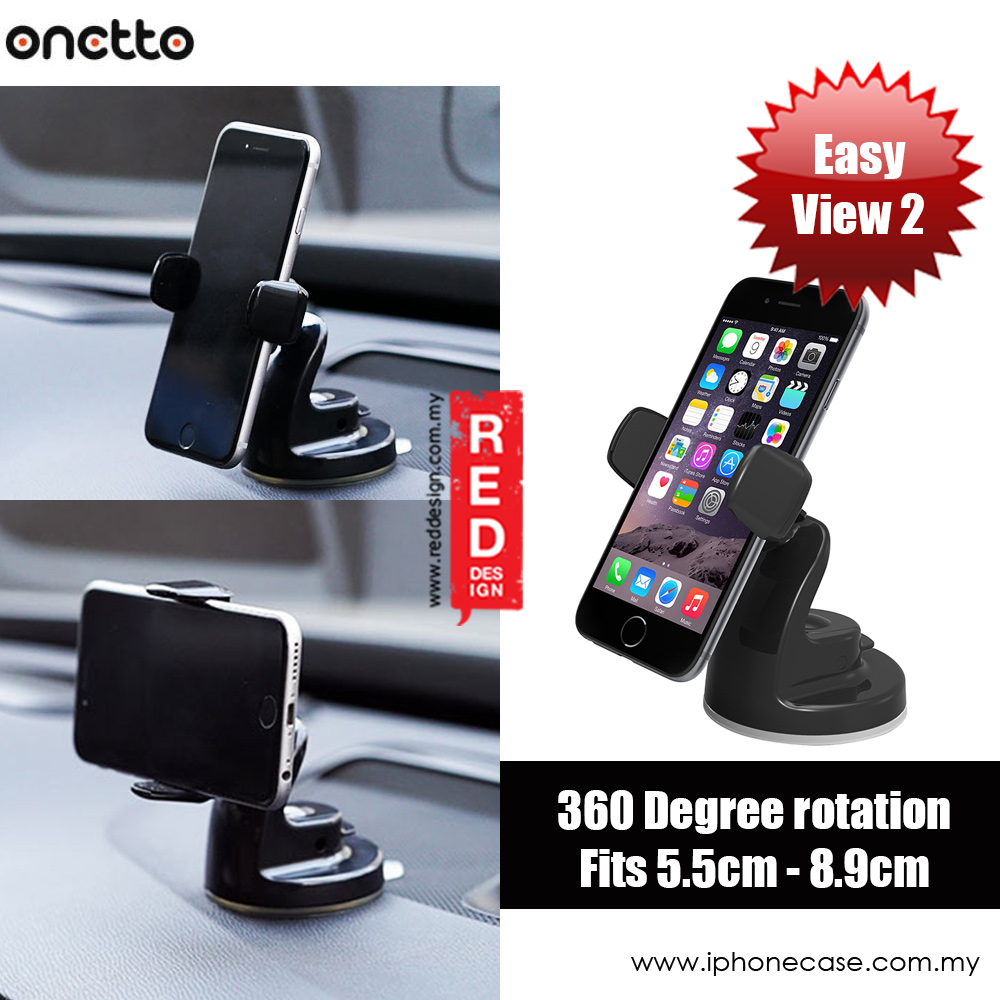 Onetto Easy View 2 Car Desk Mount Car Windscreen Mount (Black)