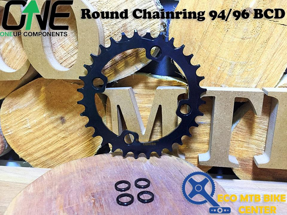 OneUp Components 94//96 round chainring 94//96BCD 30T black