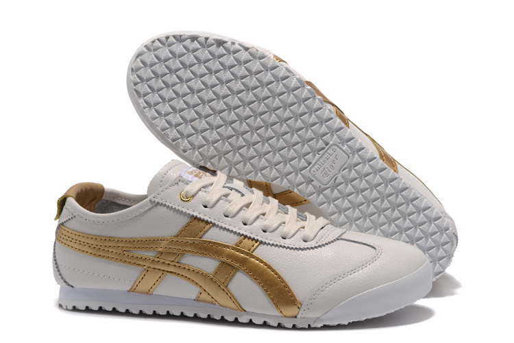the latest 8d284 53dad asics onitsuka tiger mexico 66 white gold