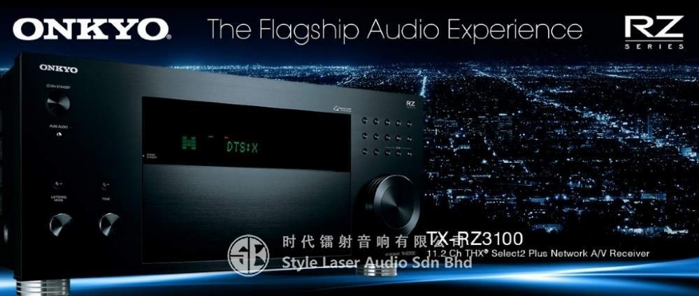 Onkyo TX-RZ3100 11 2ch Hi End Network Av Receiver