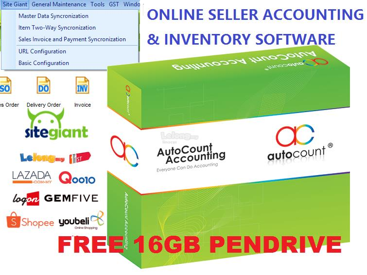ONLINE SELLER ACCOUNTING & INVENTORY SOFTWARE