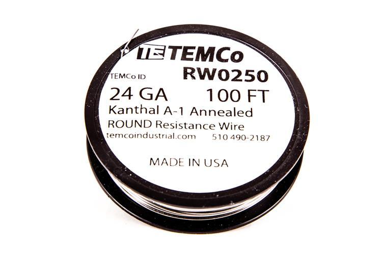 ONO e juice e liquid Vape - TEMCo Kanthal A1 Resistance wire 100Ft