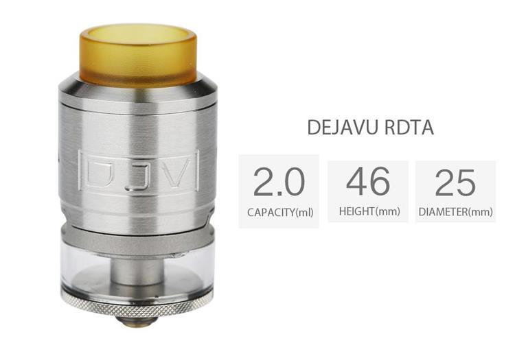 ONOVapor juice liquid vape mod - DJV Dejavu Rdta 25mm clone