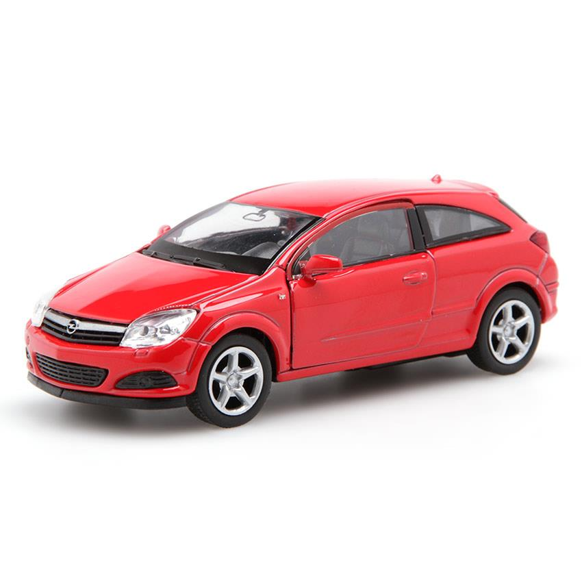 opel astra gt welly diecast model red
