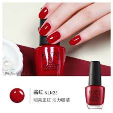 OPI Nail Lacquer In Big Apple Red Mini Size 3.75Ml