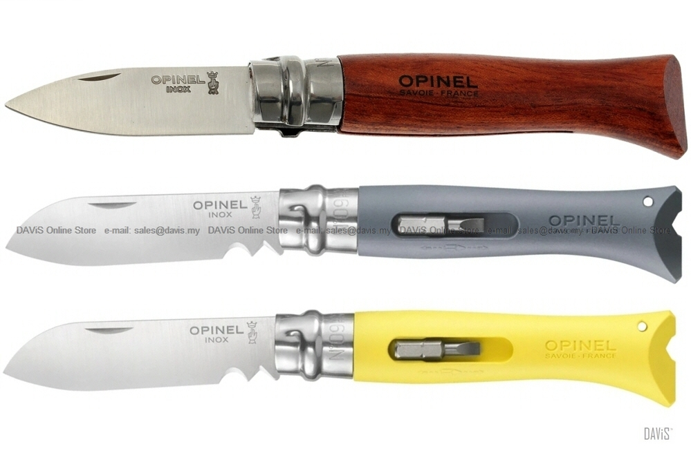 OPINEL Knives N°09 Oyster / DIY - No 9 inch Pocket Folding Knife Tools