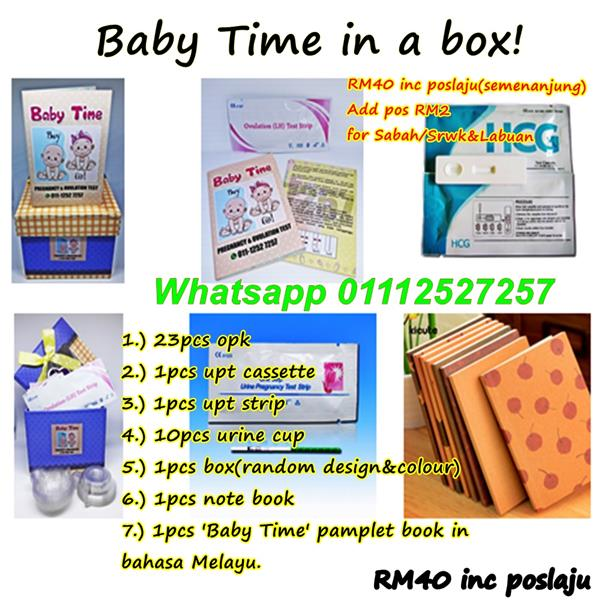 OPK Set Baby Time in a box