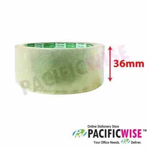 "OPP Tape 1.5"" (Transparent) 36mm x 50yard"