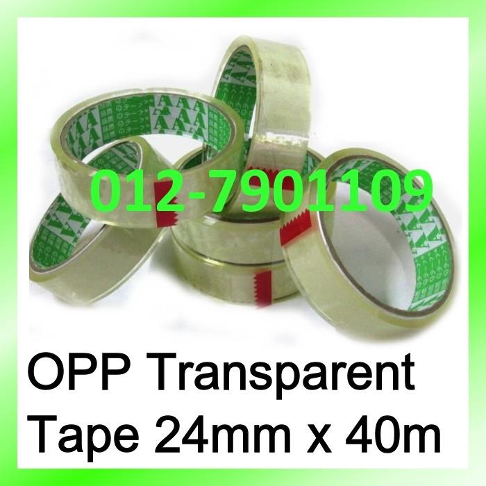 "OPP TAPE 24mm (1"") 40m Box Sealing Packing Tape 3rolls"