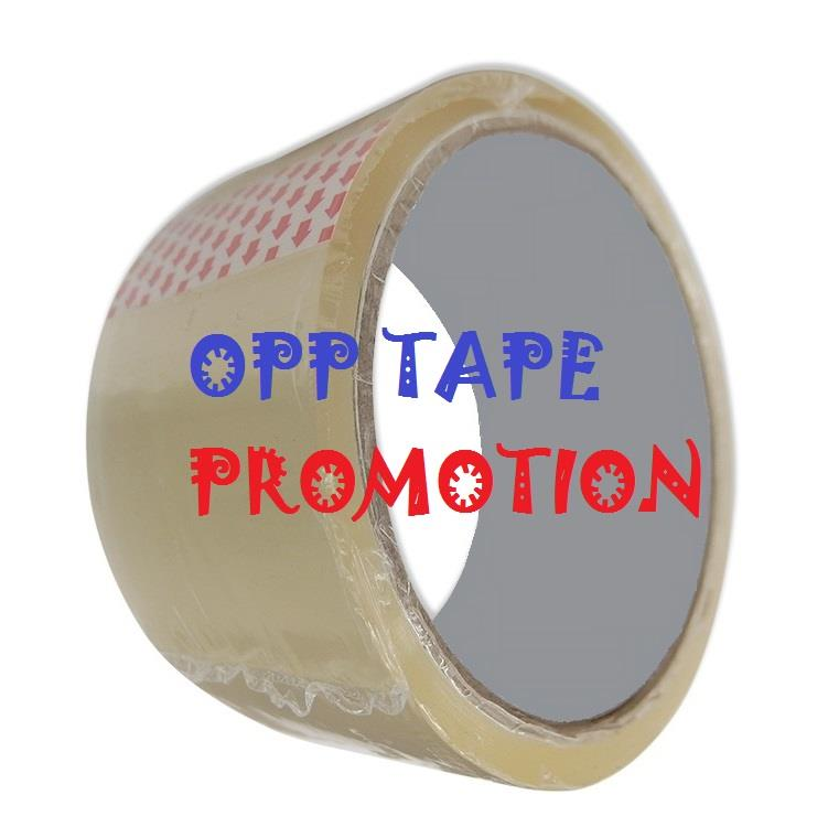 OPP TAPE PROMOTION (1roll to 10rolls offer)