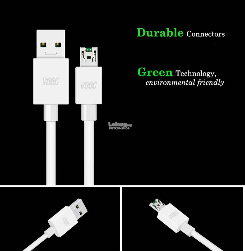 Oppo 7-Pin Durable Quick Charge Cable/Data Cable For R7/R9/R11s/R11