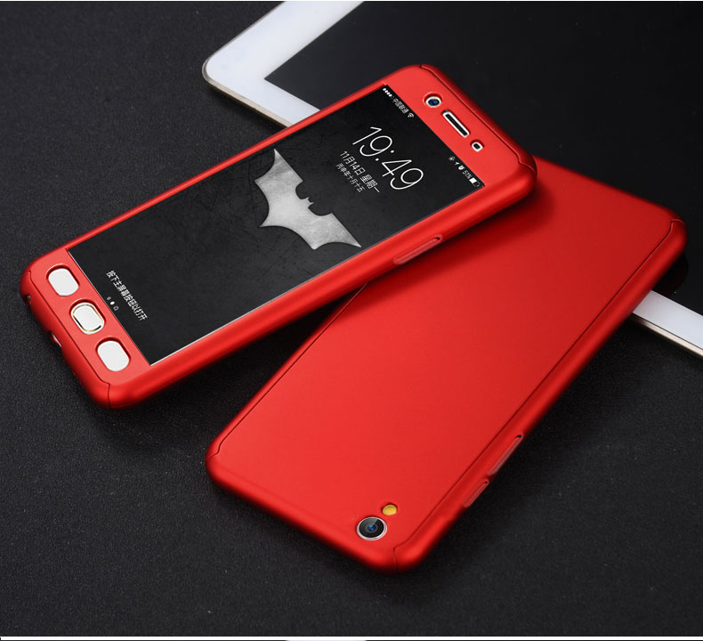 best loved 6af14 c21b4 Oppo A33 360 Full Case Protection Cover With Tempered Glass