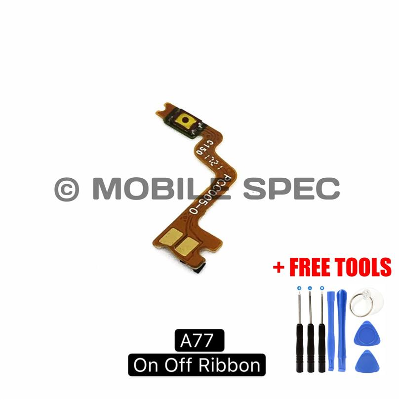 OPPO A37 NEO9 A57 A77 F3 A59 F1S ON OFF POWER BUTTON FLEX CABLE RIBBON