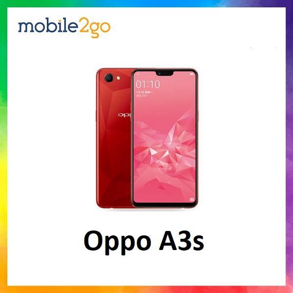 Oppo A3s [16GB ROM + 2GB RAM] - Original MY Set