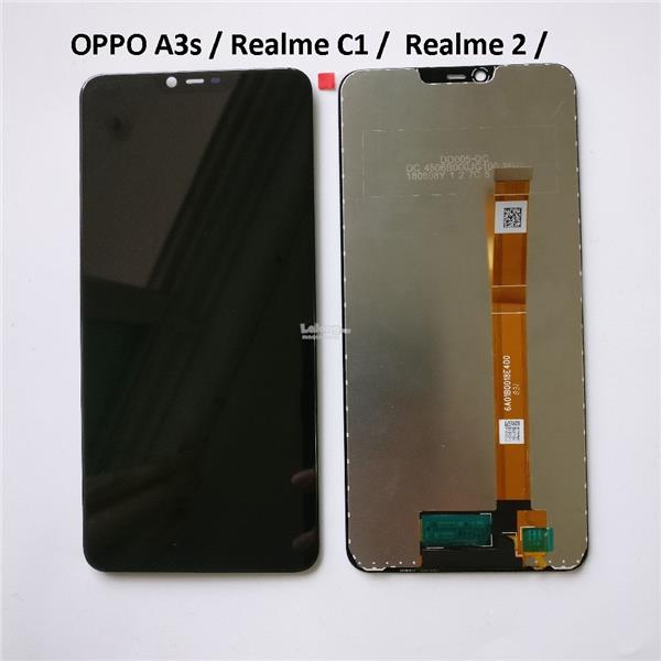 OPPO A3s / A5 / REALME C1 / LCD Digitizer Touch Screen Fullset