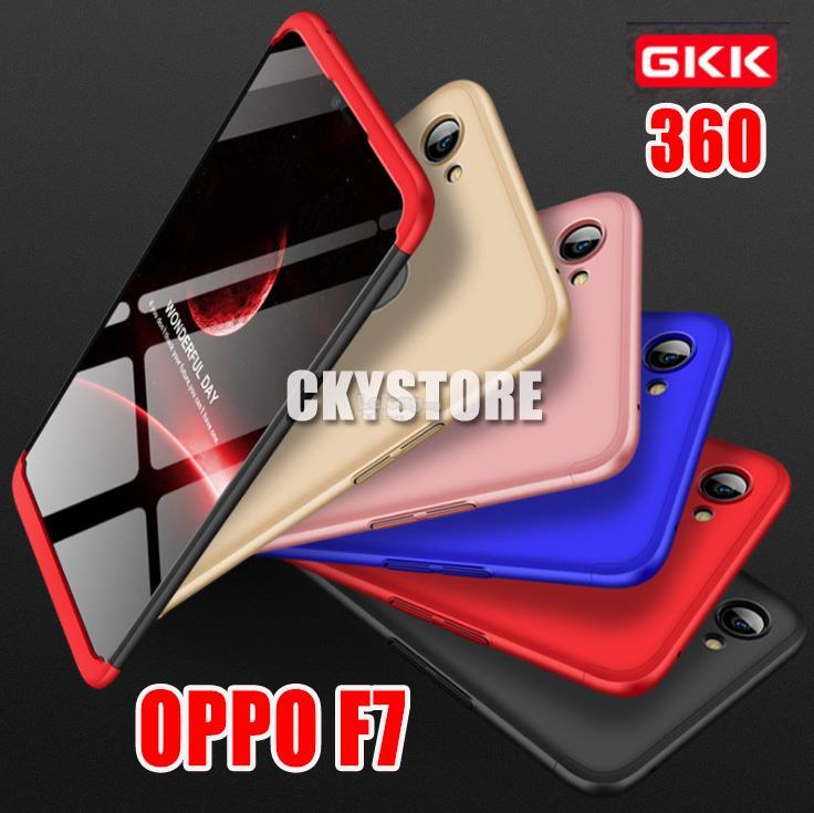 timeless design c3337 43e21 OPPO A3S Realme C1 / OPPO F7 F9 GKK 360 FULL Protection SLIM FIT Case