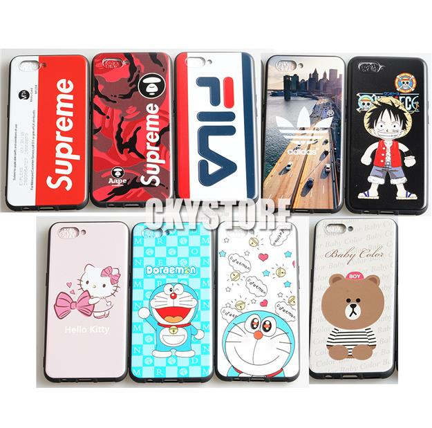 OPPO A3S Soft Cartoon Trendy TPU Case Cover