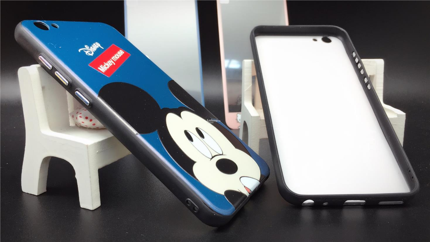 best service 0ca0c 27edf Oppo A57 A59 F1s R9s Plus Cartoon Case Cover & Tempered Glass