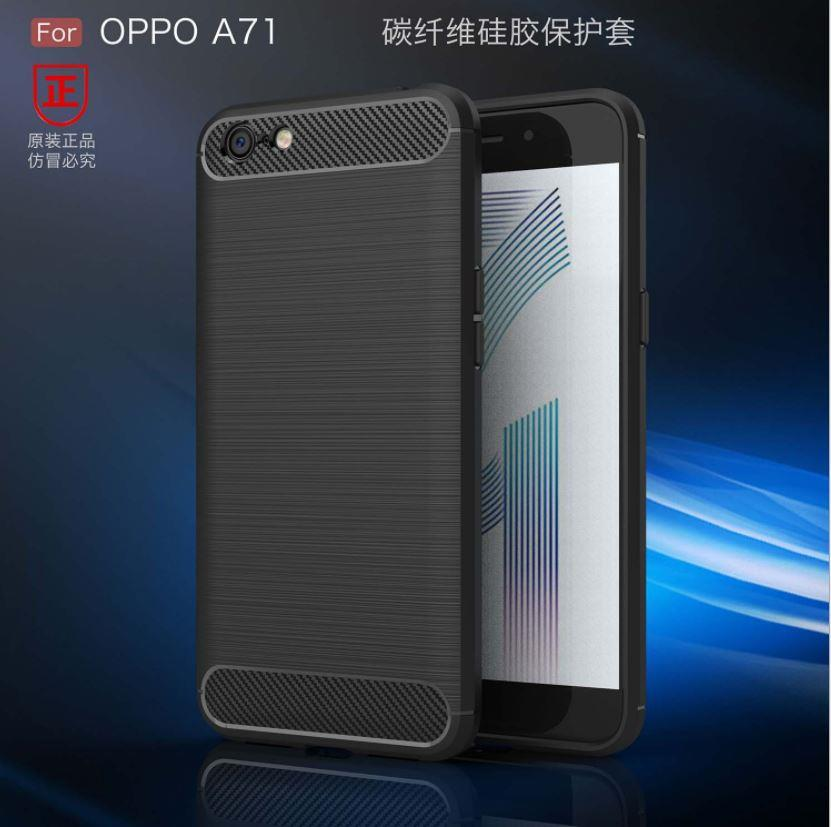best sneakers c7549 0e2b3 Oppo A71 Durable Carbon Fiber TPU Case Cover