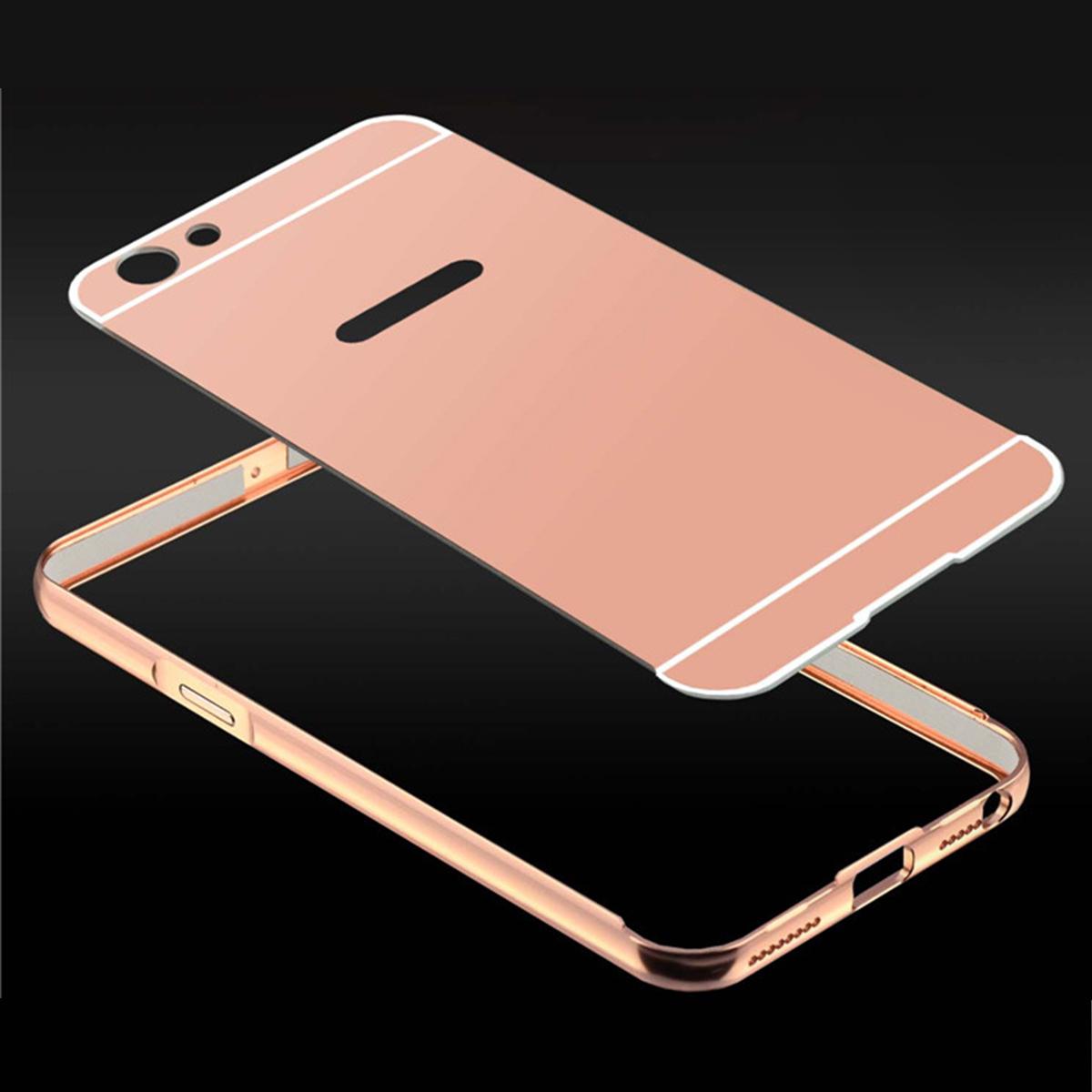 Oppo A71 Oppo A71K Mirror Metal Bumper Case Cover Casing