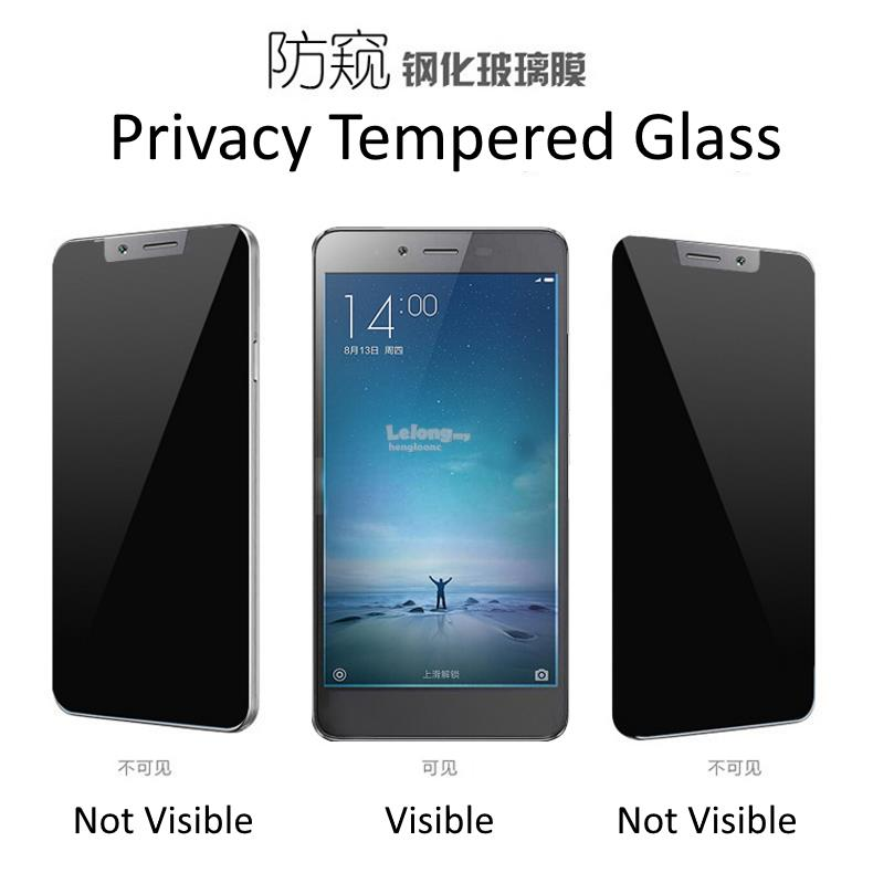 Oppo A77, A57, A37 Privacy Tempered Glass Screen Protector
