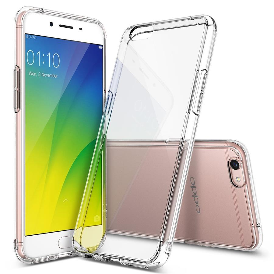 sports shoes 17b14 82d64 OPPO A77 F3 F5 F7 F9 SOFT TPU SILICONE TRANSPARENT BACK COVER CASE