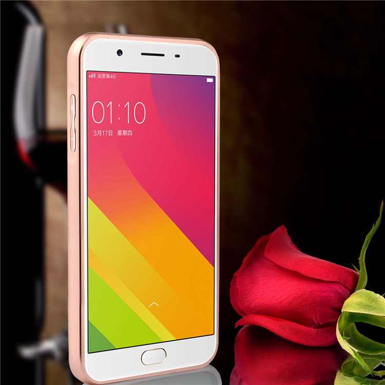 Case For Oppo R7s Bumper Slide Mirror Gold Free Iring Daftar Harga Source · Oppo A83 Oppo F5 F7 Mirror Case Cover Casing Housing