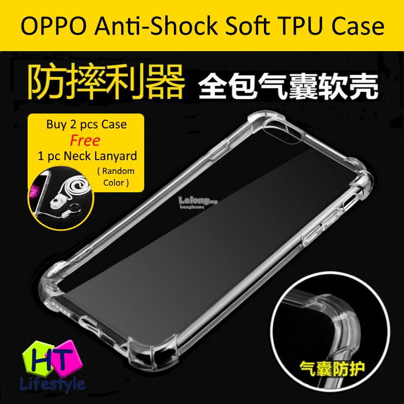 Oppo A83 ShockProof Transparent Soft TPU Case