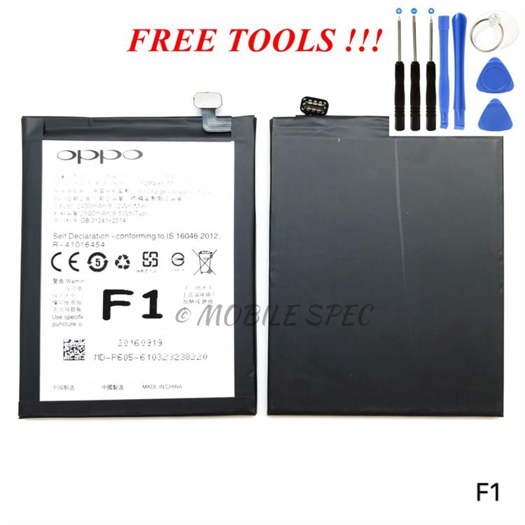 OPPO BLP605 F1 A35 2500mAh BATTERY REPLACEMENT ~ FREE TOOLS