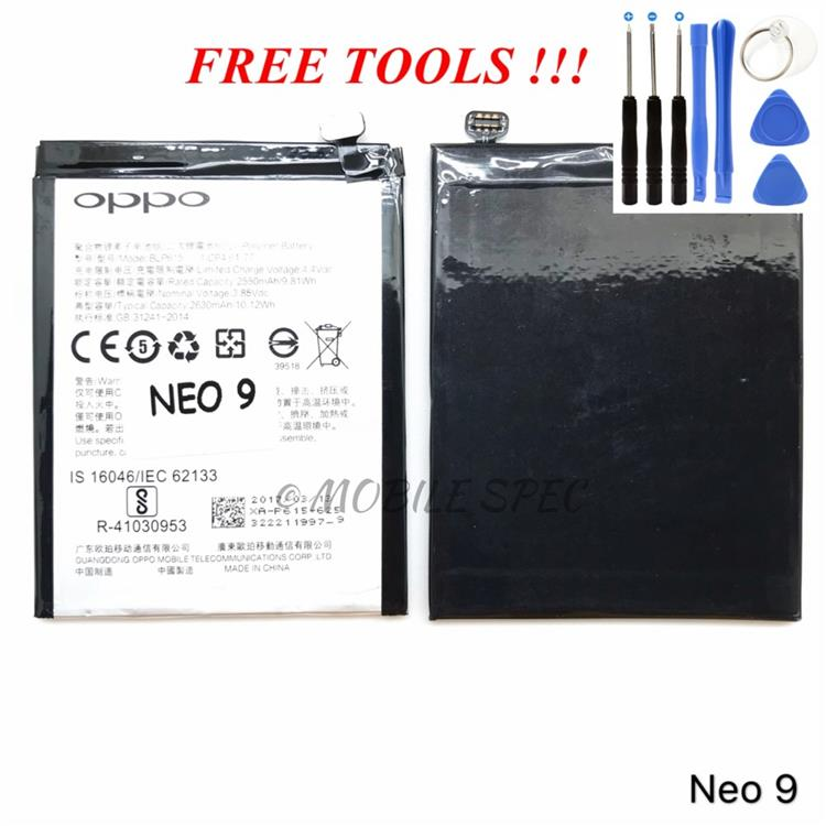 OPPO BLP615 NEO 9 A37 2630mAh BATTERY REPLACEMENT ~ FREE TOOLS