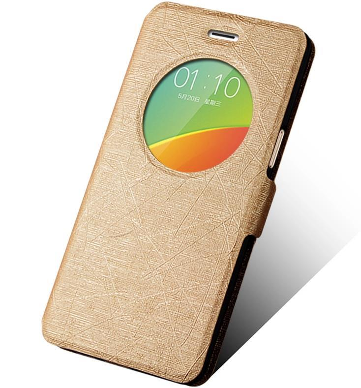 online store a275d b85fb OPPO F1 A35 Flip Smart Case Cover Casing + Free Gifts