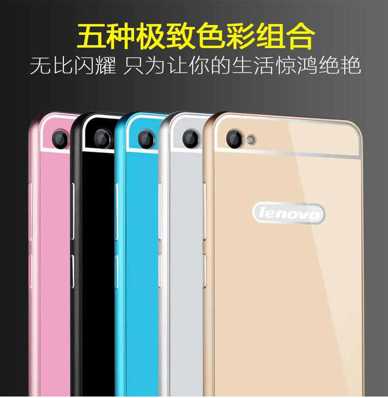 OPPO F1 A35 metal Frame Back Case Cover Tempered Glass SP .