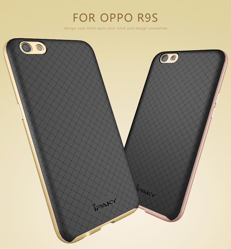 Oppo F1 Plus R9 R9S Original iPaky Neo Hybrid Bumper Back Case Cover. ‹ ›