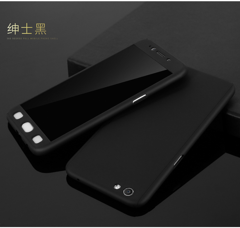 purchase cheap 25469 0a5e0 Oppo F1s (A59) 360 Full Case Protection Cover With Tempered Glass