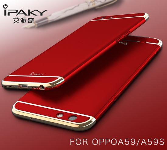 meet d6dc5 14474 OPPO F1S A59 IPAKY 3 in 1 CHROME Perfect FIT Ultra SLIM Case