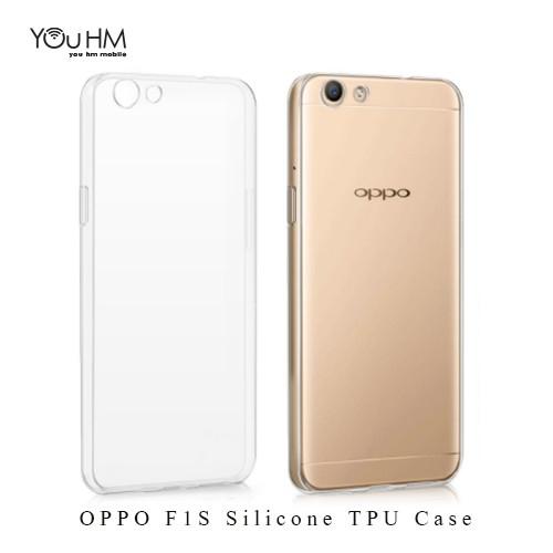 OPPO F1S / A59 Protetive Silicone TPU Transparent Skin Case Cover