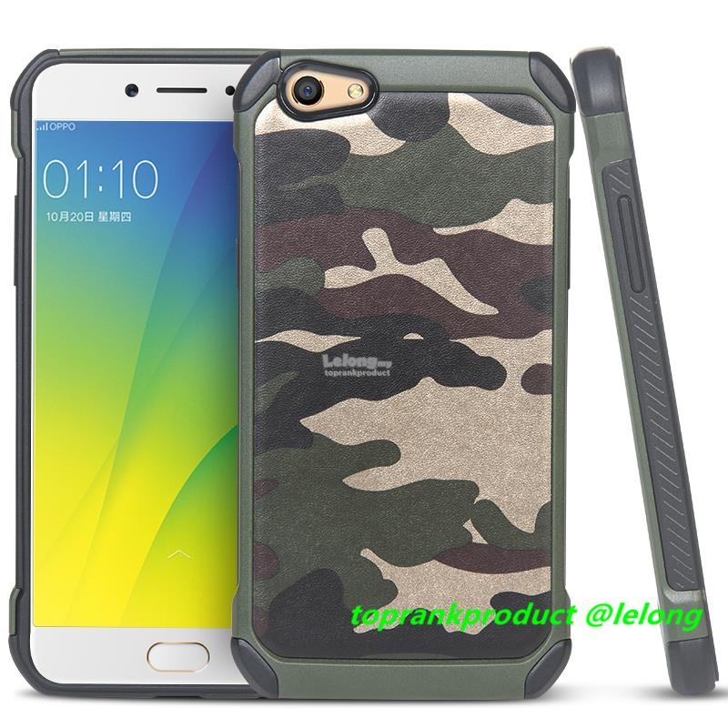 purchase cheap 0ea2d 2267a OPPO F3 A77 Camouflage ShakeProof Armor Back Case Cover Casing
