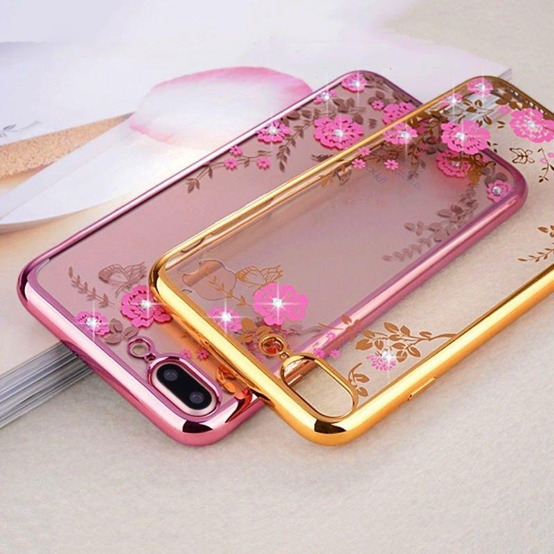 best loved a9d73 ebfe5 Oppo F5 Diamond Secret Garden TPU Case Cover Bumper