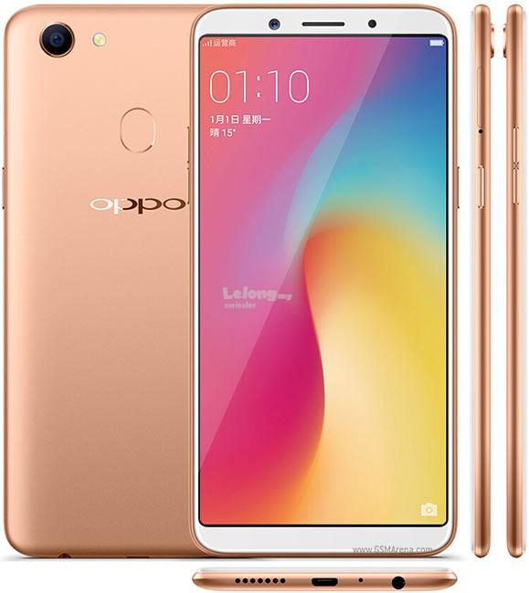 Oppo F5 Gold 16MP/ Internal 32 GB, 4 GB RAM 3 month set Rm899